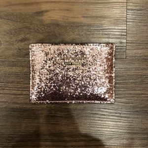 Glitter Kate Spade Card holder Wallet